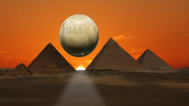 Photo of Are the 3 Ancient Egyptian Pyramids at Giza Illustrated on this 7,000-Year-Old Ostrich Egg?