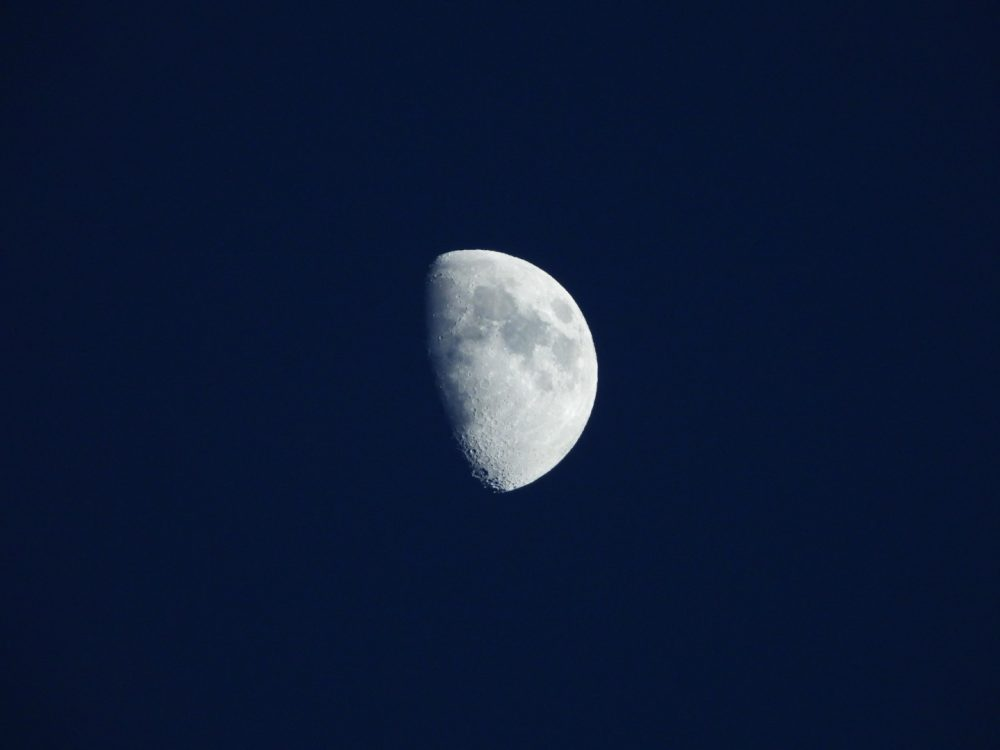 An image of the Moon. Image Credit: Ivan Petricevic.