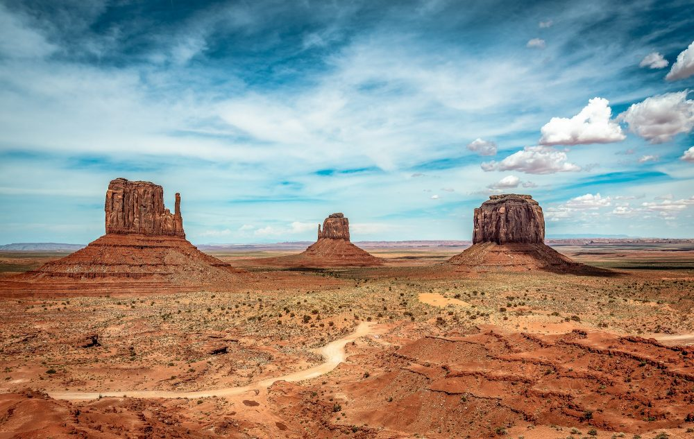 An image of the American desert. Jumpstory.
