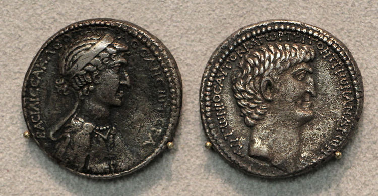 Cleopatra and Ptolemy XIII