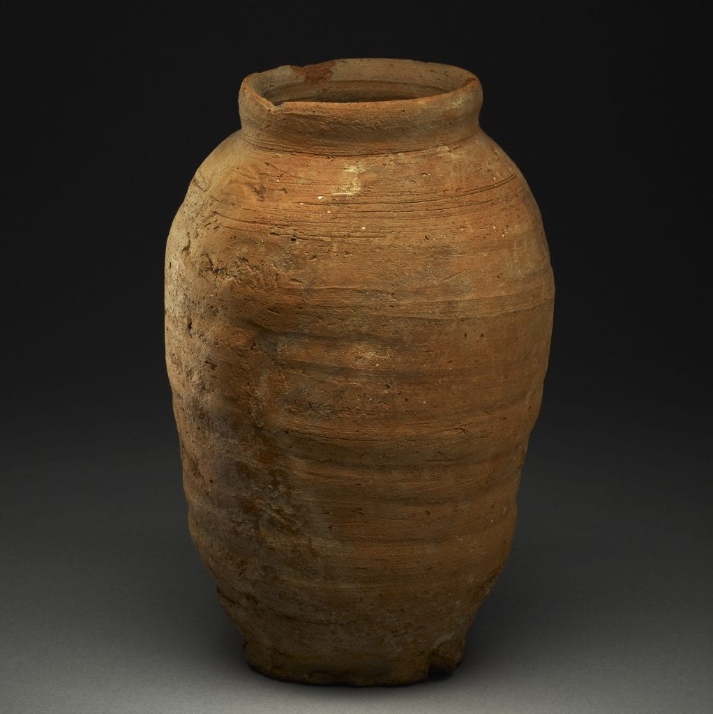 ancient beer jar