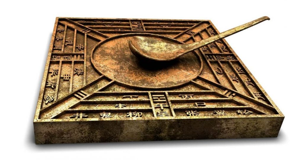 Ancient Chinese Compass.