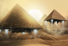 Could the Pyramids actually hide the existence of spaceships?