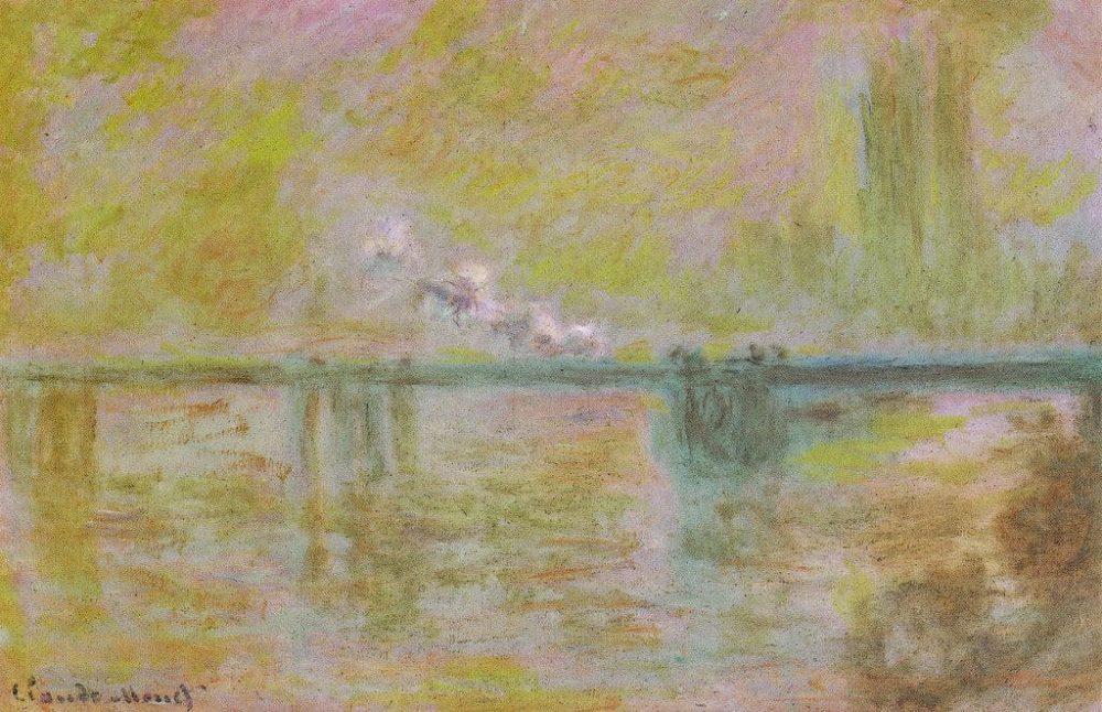 """Charing Cross Bridge"" by Claude Monet."