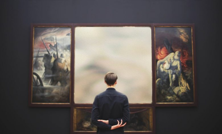 Many museums keep the frames of stolen paintings.