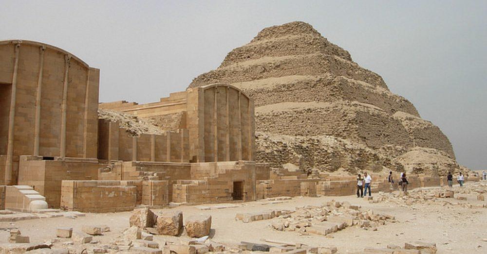 Step Pyramid of Saqqara.