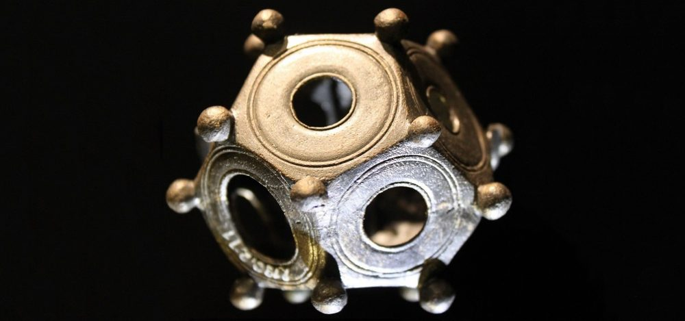 Here is how a Roman Dodecahedron normally looks like.