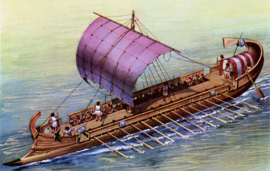 Roman Liburna Ship.