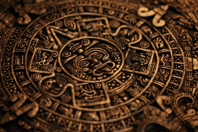 Aztec Symbols.