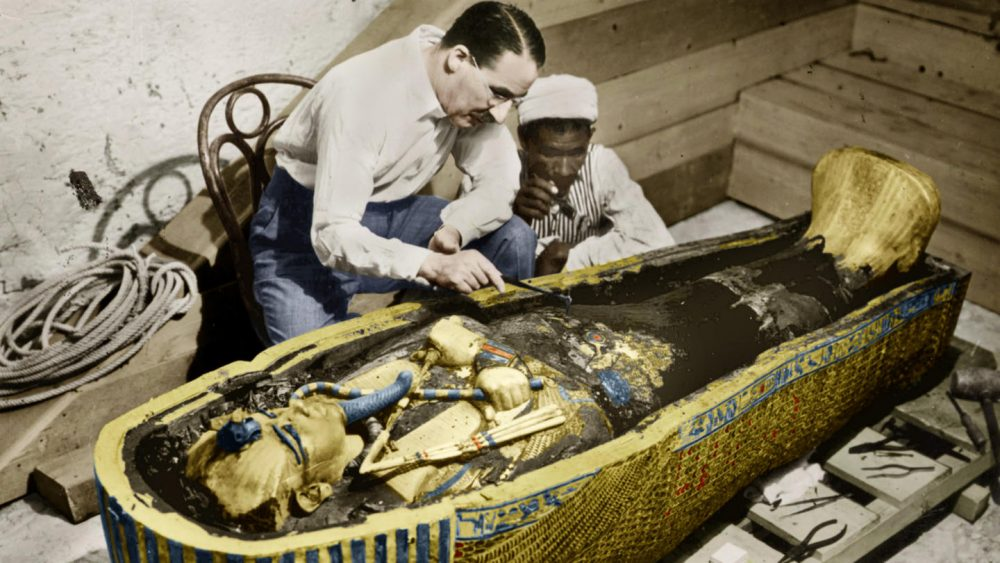 King Tut's sarcophagus. Source: history.com