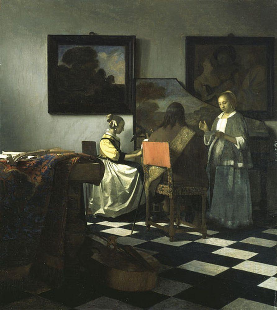 """The Concert"" by Johannes Vermeer."