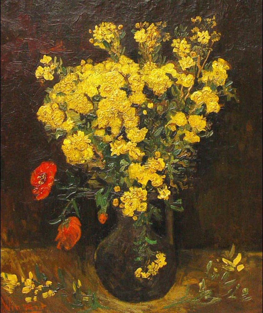 """Poppy Flowers"" by Vincent Van Gogh."