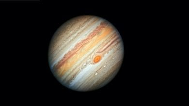 "Photo of Jupiter, a ""Solar System"" of its Own: 600 Moons Likely Orbit the Gas Giant"