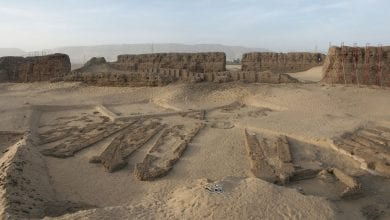 The site of the ancient Egyptian Abydos Boats - the oldest known wooden built boats to date.