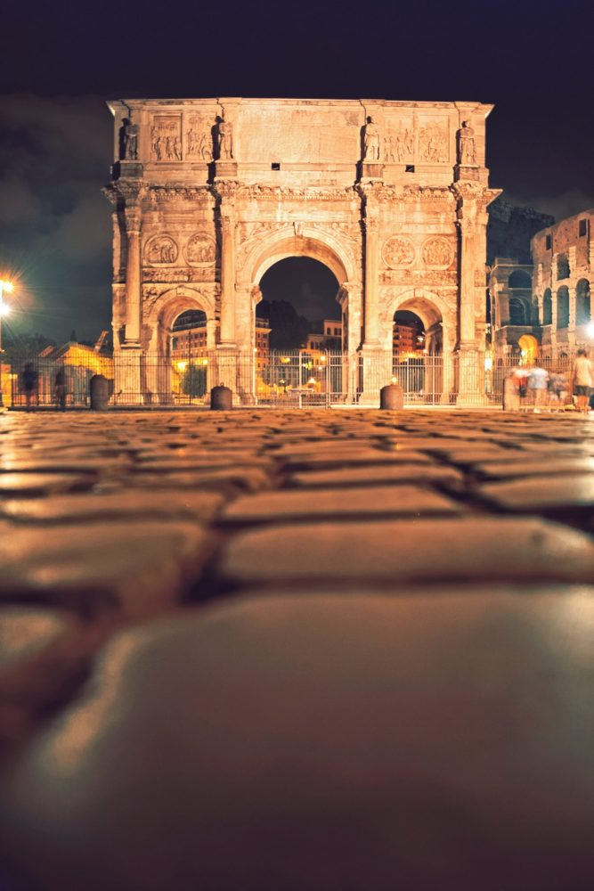 An example of Ancient Roman roads in Constantine. Jumpstory.