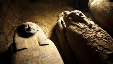 Photo of 13 Ancient Egyptian Sarcophagi Dating Back 2,500 Years Found Not Far From Step Pyramid