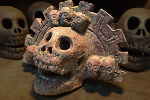 An example of the Ancient Aztec Death Whistle.