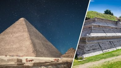 Photo of Unwritten Mystery: Here's How The Largest Pyramid on Earth Compares to Egypt's Great Pyramid