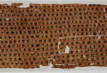 An image of the Mawangdui medical texts. Image Credit: Public Domain.