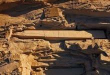 One of the unfinished obelisks near one of the quarries in Aswan which where most granite in ancient Egypt came from.