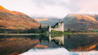Kilchurn Castle, Scotland. Unsplash.