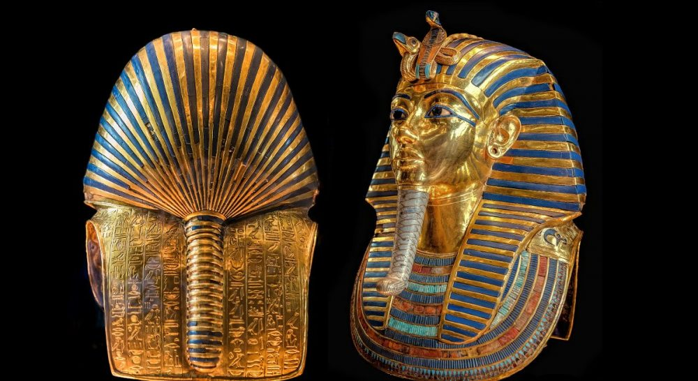Perhaps the most famous of the treasures of Tutankhamun - his death mask.