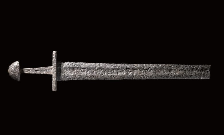 One of the many Ulfberht swords found in Europe.