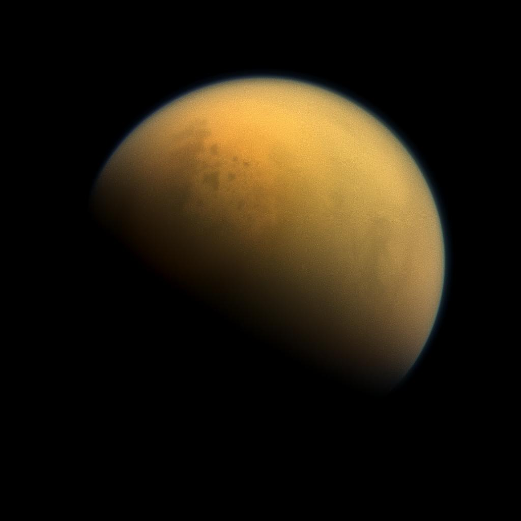 The Curious Moon of Titan. Source: NASA