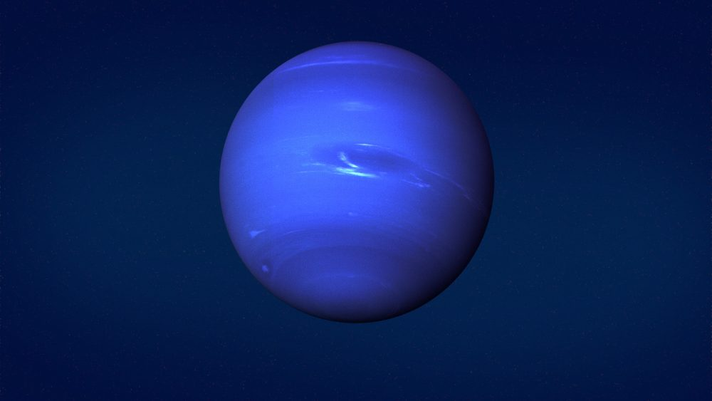 An image of Neptune