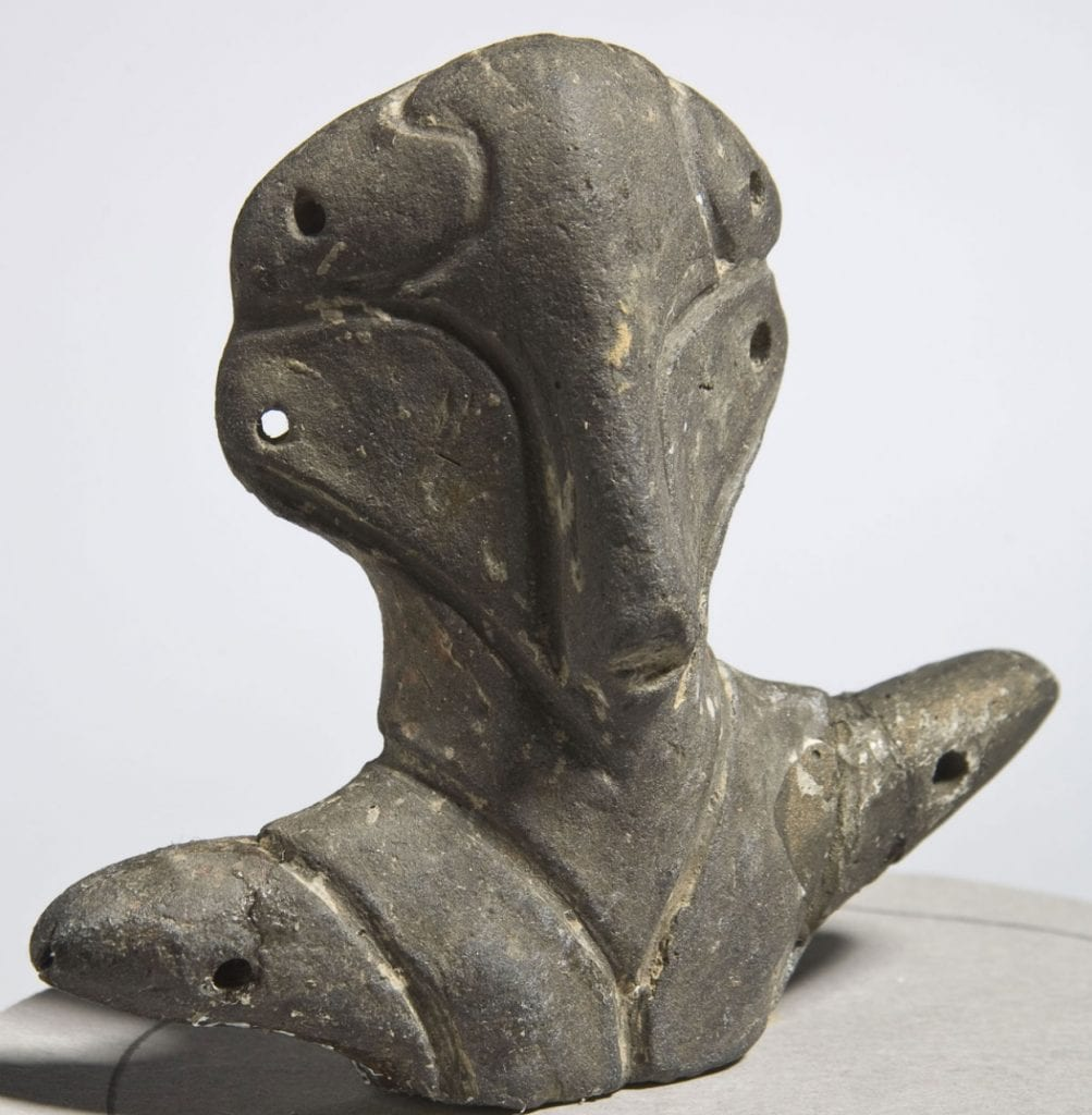 The triangle-shaped heads of the figurines made by the Vinca culture could be the earliest evidence of human contacts with extraterrestrial beings. Or, they could be nothing more than depictions of ancient deities. Who knows...