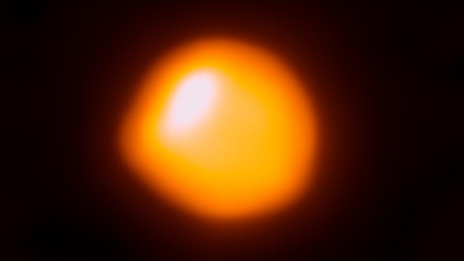 An image of Betelgeuse. Image Credit: ALMA (ESO/NAOJ/NRAO)/E. O'Gorman/P. Kervella.