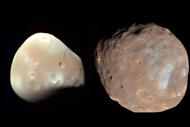 Moons of the red planet