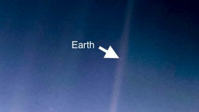 The Pale Blue Dot; Earth is that little dot in the vastness of space. Image Credit: NASA/JPL-Caltech.