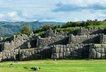 The fortress-temple of Sacsayhuaman was built by the Incas as a fortification for the capital of Cuzco.