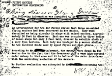 Photo of This Is the FBI's Most Viewed UFO File And It Details the Crash of 3 UFOs