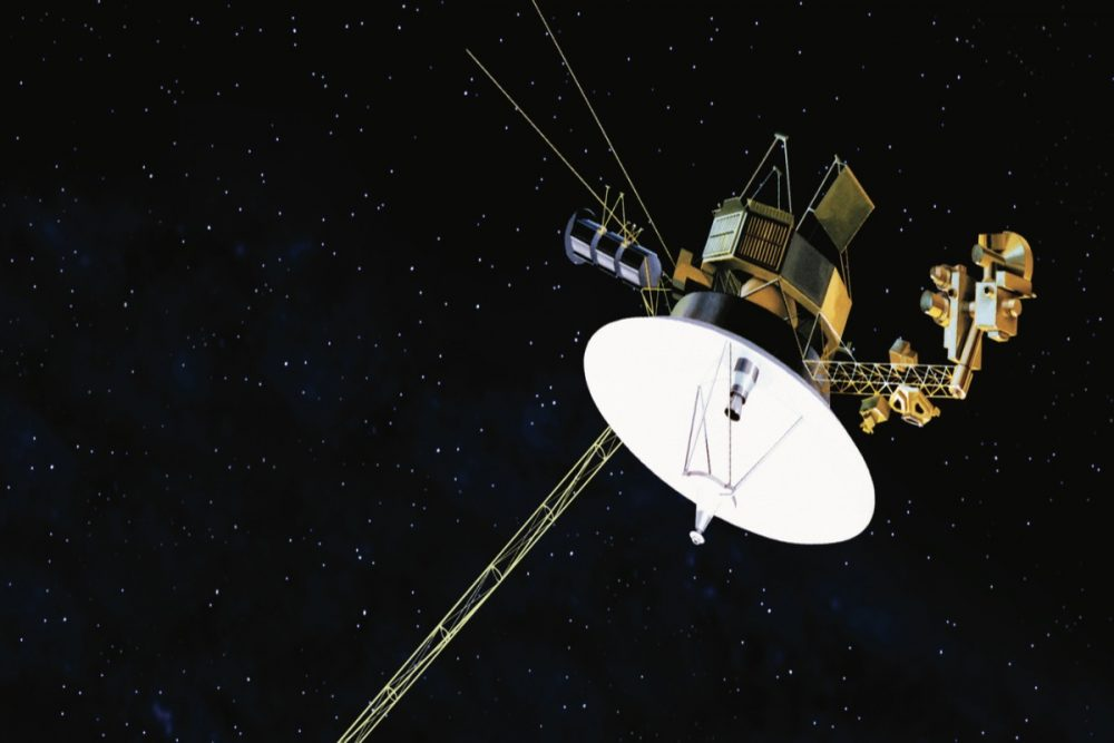 Voyager 1 has not yet run our of fuel 43 years after it began its travels in space.