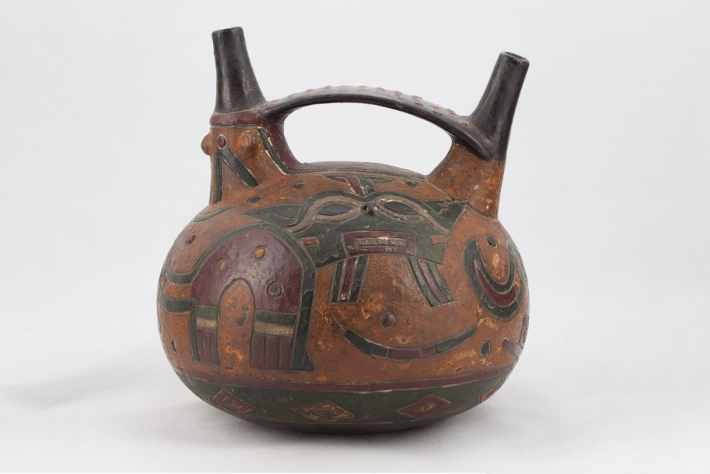 Ceramic vessel made by the Paracas Culture. Source: Fowler Museum