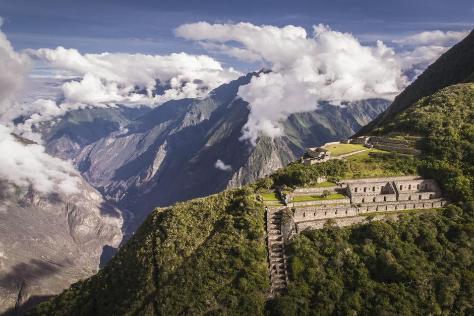 Choquequirao is extremely hard to access but it has the potential to become one of Peru's greatest tourist locations. Only half of this archaeological site in Peru has been excavated to this day.