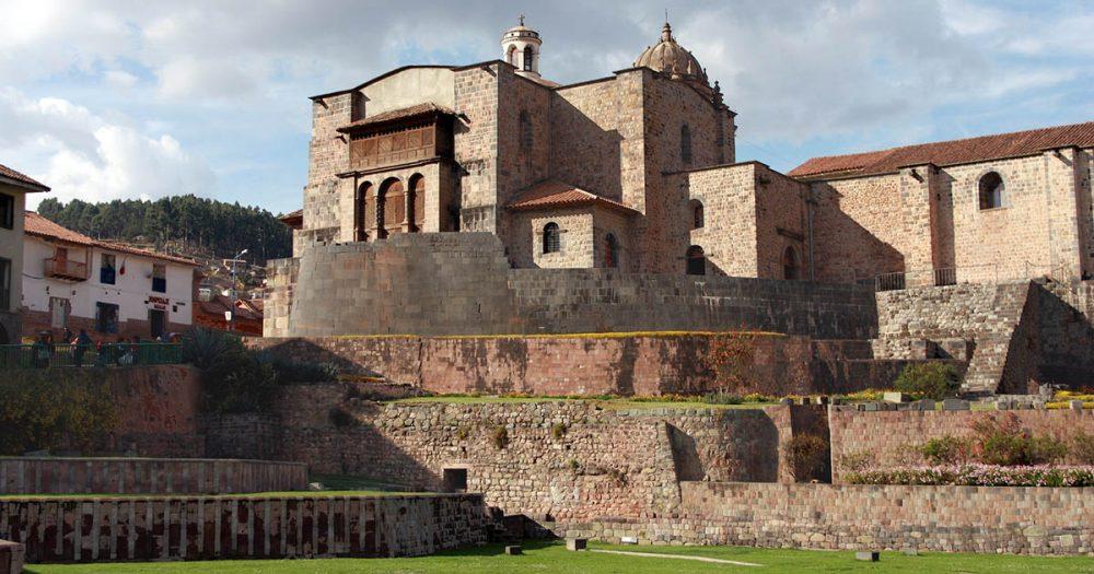 Coricancha - The Temple of the Sun in Cusco.