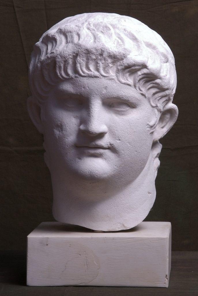 Marble bust of Emperor Nero. Credit: University of Cambridge