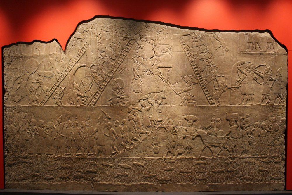 An ancient illustration of Sumer. Jumpstory.