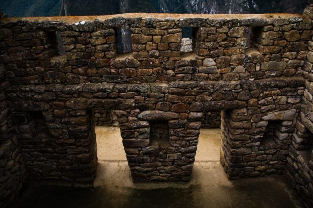 An example of stone Inca masonry. Jumpstory.