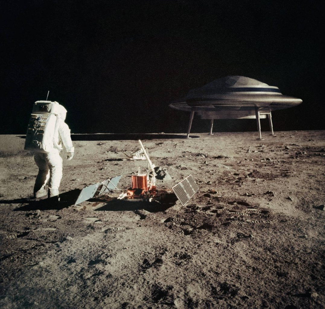 Did NASA astronauts come into contact with alien species during the several Moon landings throughout the years. This remains the most important Moon conspiracy theory for now.