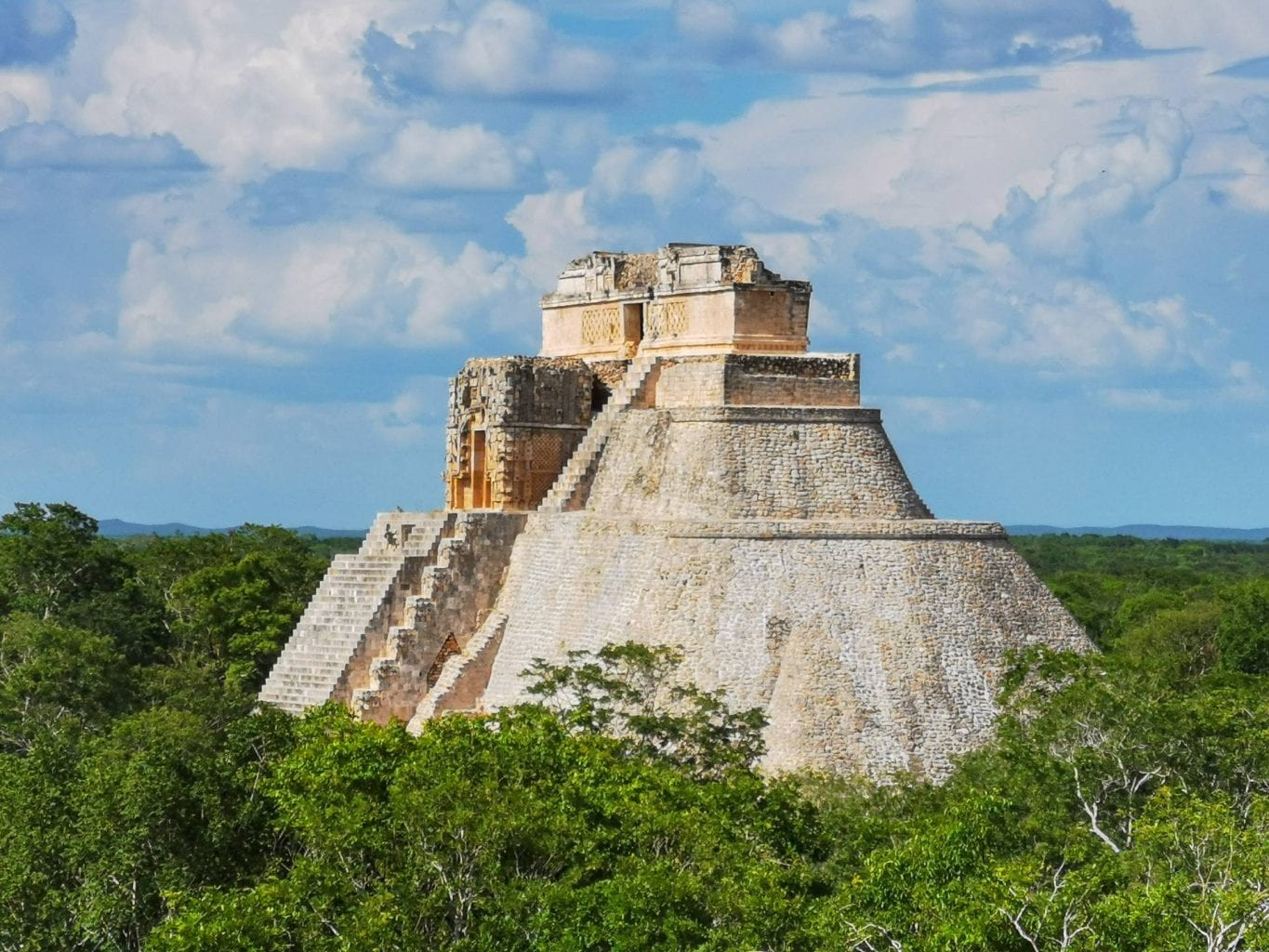 The magnificent ancient Mayan structures of Uxmal. Credit: Shutterstock