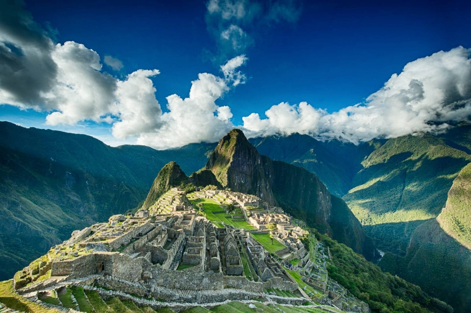 One of the greatest sights on planet Earth - Machu Pichu.