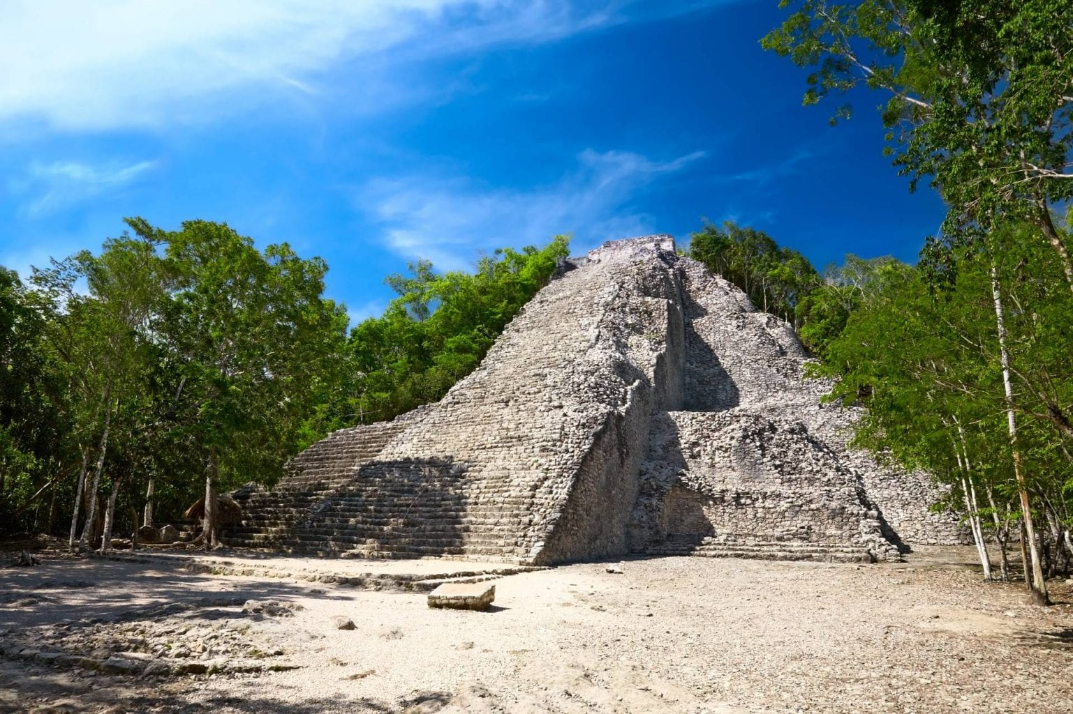 Ruins of the ancient site of Coba, Mexico. Credit: Shuttestock