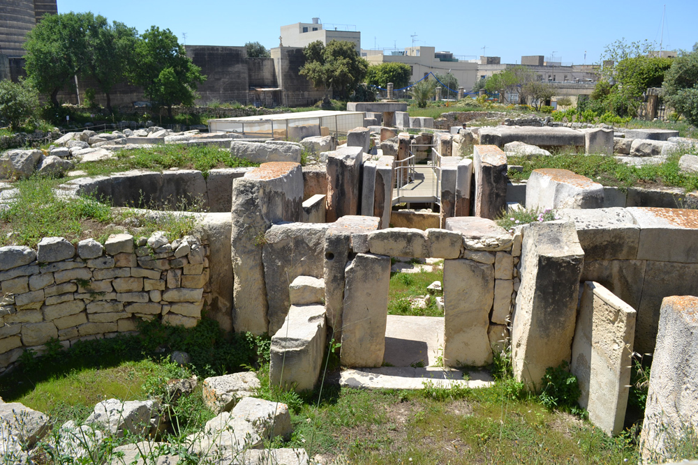 The Tarxien Temples dated to approximately 3150 BC.