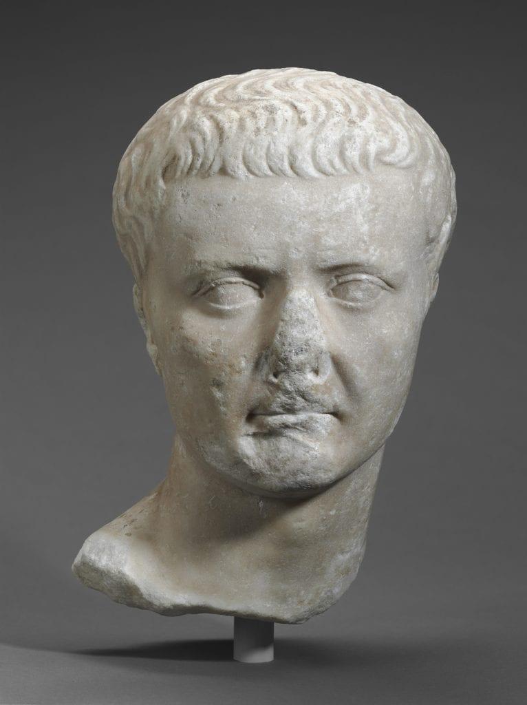 Bust of Emperor Tiberius. Credit: Harvard Museums