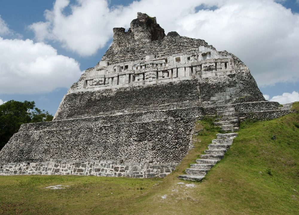 The magnificent ruins of Xunantunich. Credit: Carnival Co UK