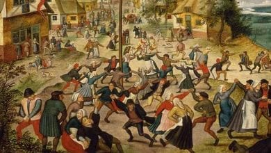 The dancing plague of 1518.